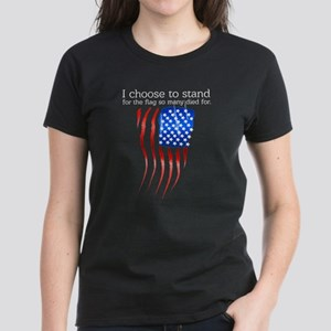 I choose to stand for the flag T-Shirt