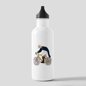 George Washington On B Stainless Water Bottle 1.0L