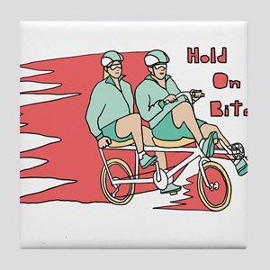 Recumbent Bike Tile Coaster