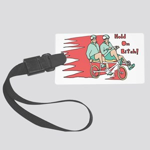 Recumbent Bike Large Luggage Tag