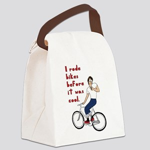 I Rode Bikes Before It Was Cool Canvas Lunch Bag