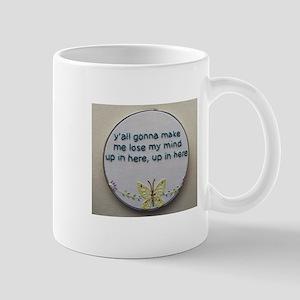 Lose my mind needlepoint Mugs