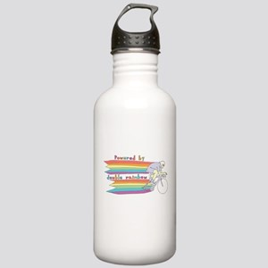 Powered By Double Rain Stainless Water Bottle 1.0L