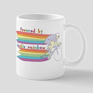 Powered By Double Rainbow Mugs