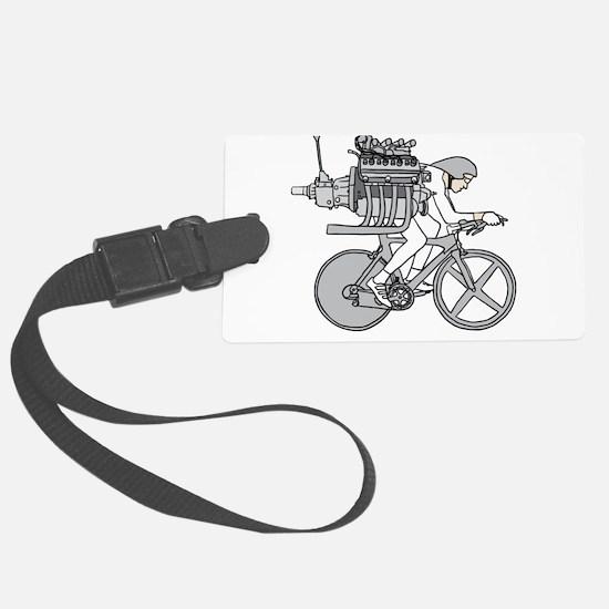 Bicycle Motoring Luggage Tag