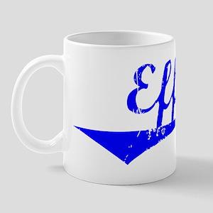 Effie Vintage (Blue) Mug