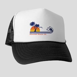 Newport Beach Ca Trucker Hat