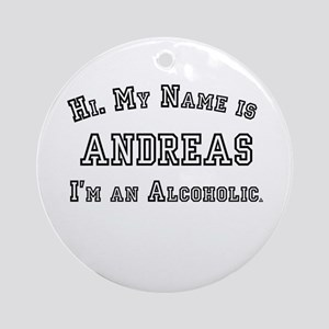 Andreas Ornament (Round)