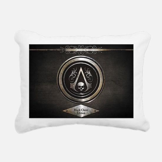 Funny Black flag Rectangular Canvas Pillow