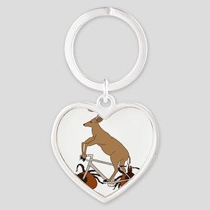 Deer Riding Bike With Deer Tick Wheels Keychains