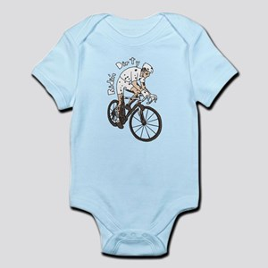 Cyclocross Rider Riding Dirty Body Suit