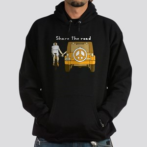 Share The Road Hoodie (dark)