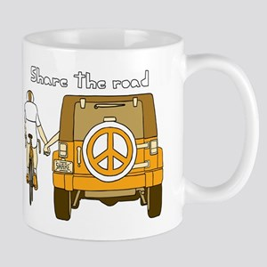 Share The Road Mugs