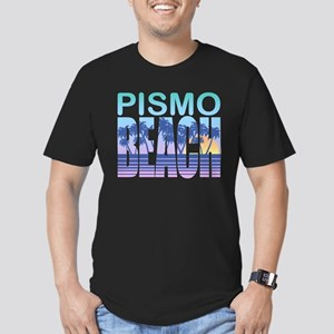 Pismo Beach Men's Fitted T-Shirt (dark)