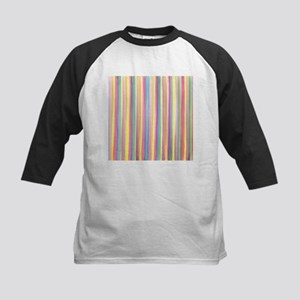 Watercolor Stripes Baseball Jersey