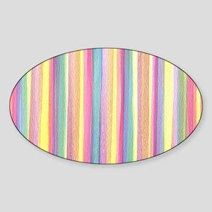 Watercolor Stripes Sticker