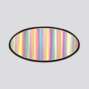 Watercolor Stripes Patch