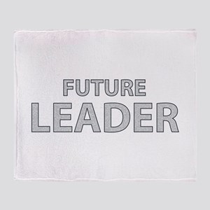 Future Leader Throw Blanket