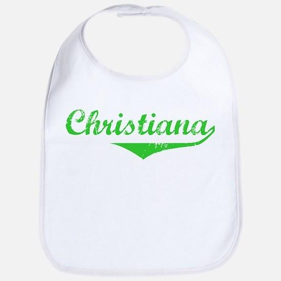 Christiana Vintage (Green) Bib