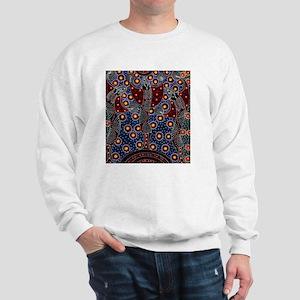 AUSTRALIAN ABORIGINAL FERTILITY ART 2 Sweatshirt