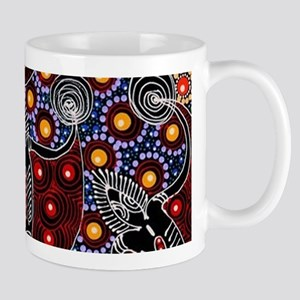 AUSTRALIAN ABORIGINAL FERTILITY ART 2 Mugs