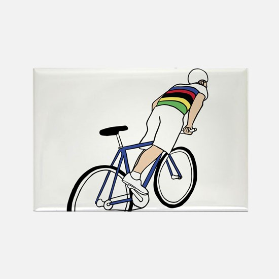 Skidding World Champion (In Rainbow Jersey Magnets