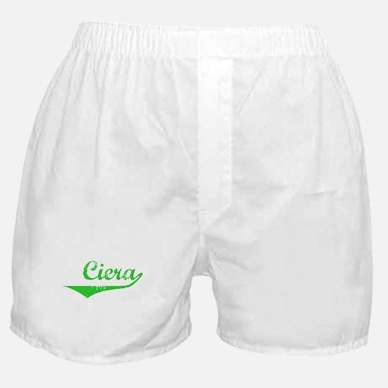 Ciera Vintage (Green) Boxer Shorts