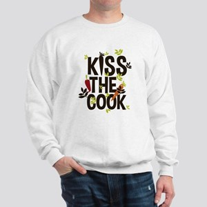kiss the cook Sweatshirt