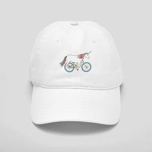 Unicorn Riding Bike Cap