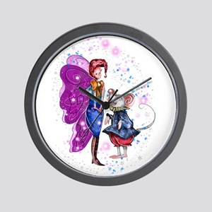 Wee Forest Folk Wall Clock