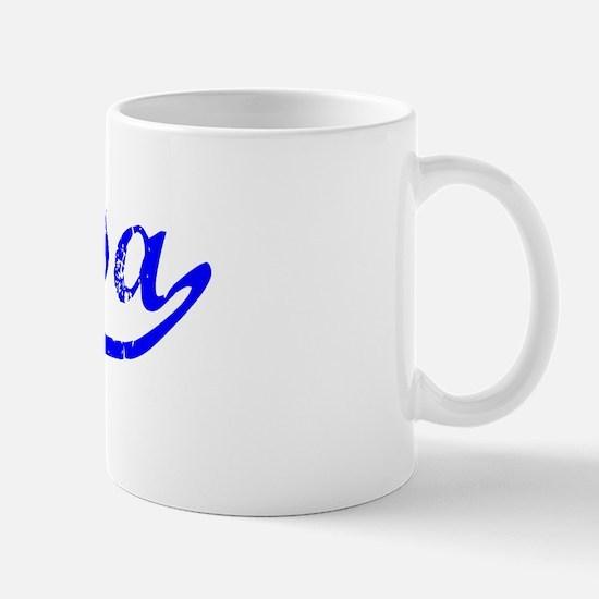 Elyssa Vintage (Blue) Mug