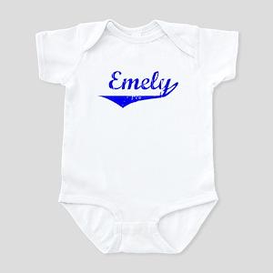 Emely Vintage (Blue) Infant Bodysuit