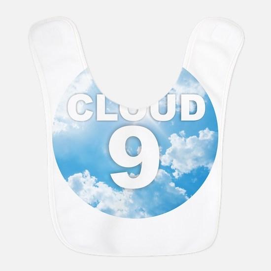 Cloud Polyester Baby Bib
