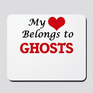 My Heart Belongs to Ghosts Mousepad