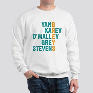 Grey's Anatomy Vertical. Sweatshirt
