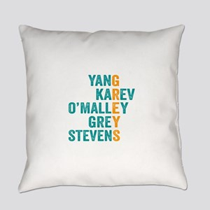 Grey's Anatomy Vertical. Everyday Pillow