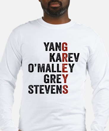 Grey's Anatomy Vertical. Long Sleeve T-Shirt