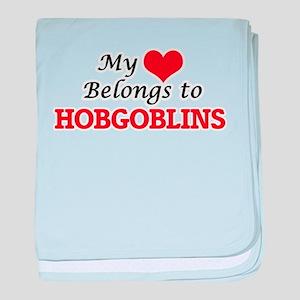 My Heart Belongs to Hobgoblins baby blanket