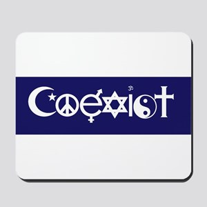 coexist design Mousepad