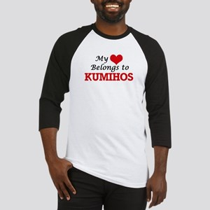My Heart Belongs to Kumihos Baseball Jersey