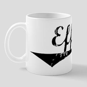Effie Vintage (Black) Mug