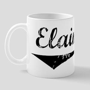 Elaina Vintage (Black) Mug