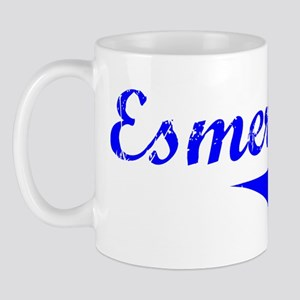 Esmeralda Vintage (Blue) Mug