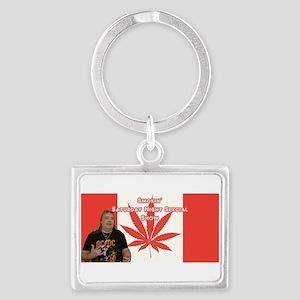 Big Johnny Blaze Banner Keychains