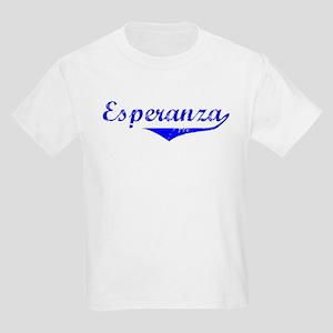 Esperanza Vintage (Blue) Kids Light T-Shirt