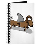Wiener Dog with a Sharks Fin Journal