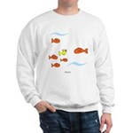 Fish School Bathroom Sweatshirt