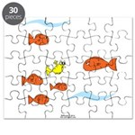 Fish School Bathroom Puzzle