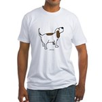 Hound Dog Fitted T-Shirt