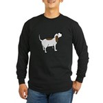 Hound Dog Long Sleeve Dark T-Shirt